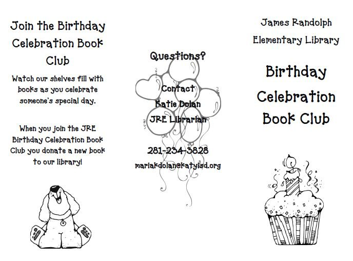 Birthday Book Club Image
